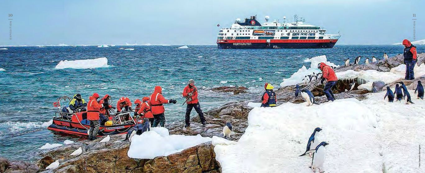 Hurtigruten Expeditions-Reisen