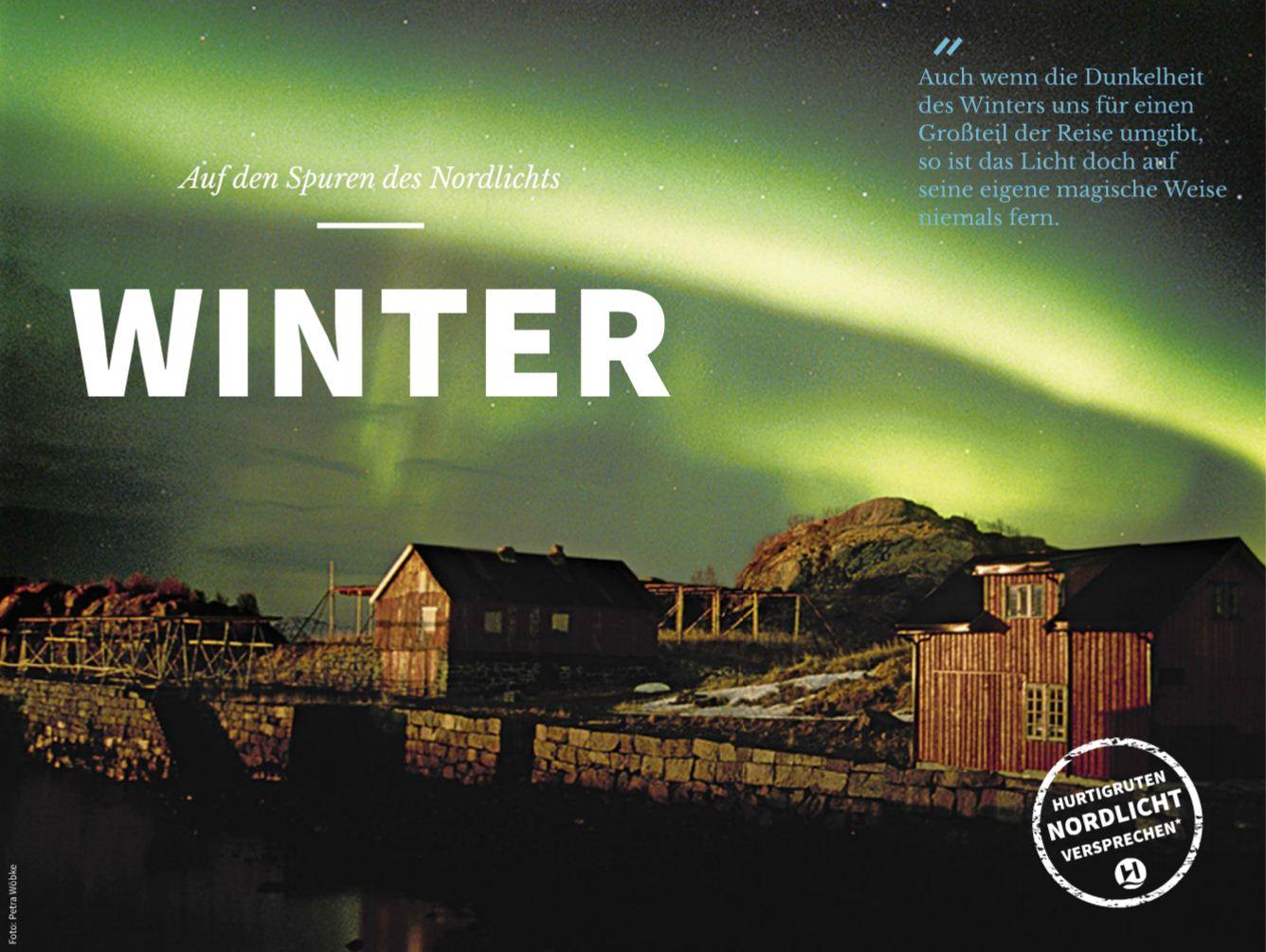 Der Winter mit Hurtigruten Postschiffreisen