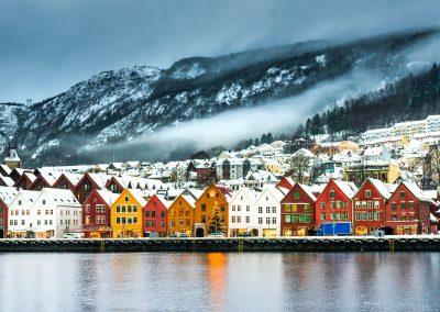 Die klassische Postschiffroute: Bergen-Kirkenes-Bergen 12 Tage ab € 1.429,-