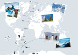 Hurtigruten Expeditions-Reisen Destinationen