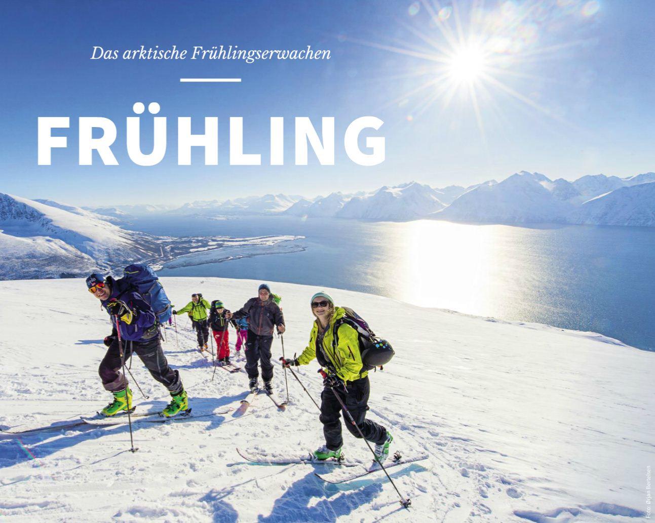 Der Frühling mit Hurtigruten Postschiffreisen