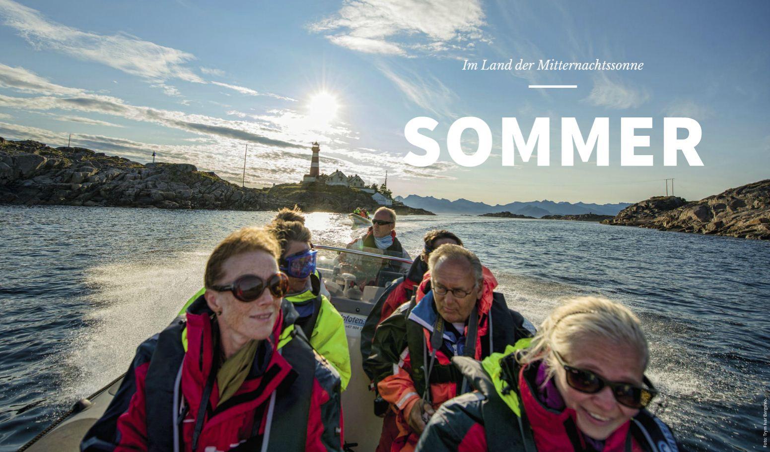 Der Sommer mit Hurtigruten Postschiffreisen