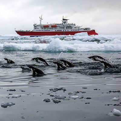 Antarktis Seereise