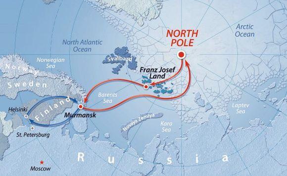 Finnland Eisbrecherreise Erlebnis Nordpol 14 Tage